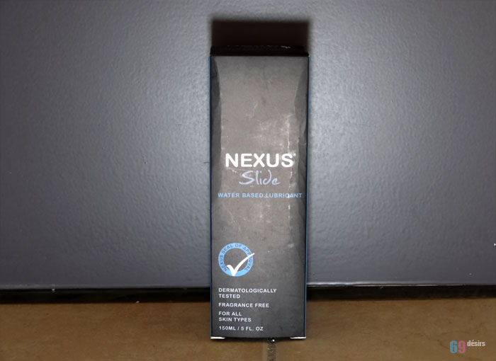 Test du lubrifiant Nexus Slide 150 ml