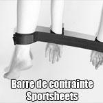 Barre de contrainte Sportsheets