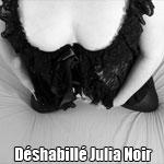 Déshabillé Julia Noir