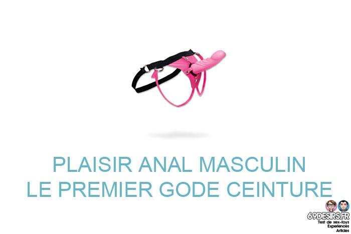 Plaisir anal : premier gode-ceinture