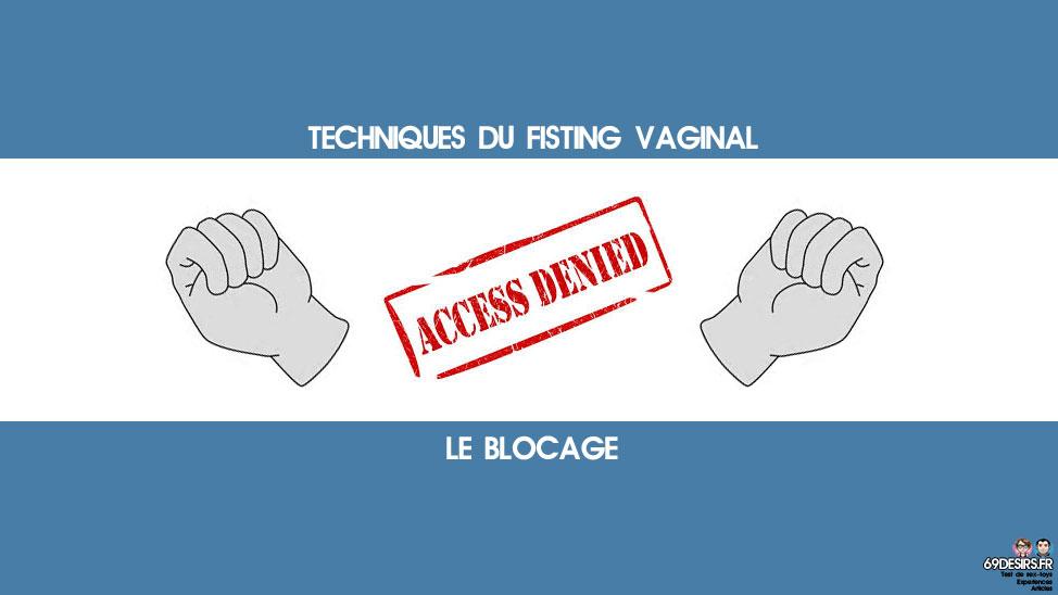 techniques du fisting vaginal blocage