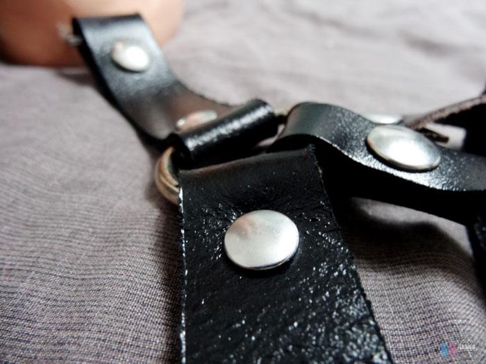 gode ceinture double penetration creux