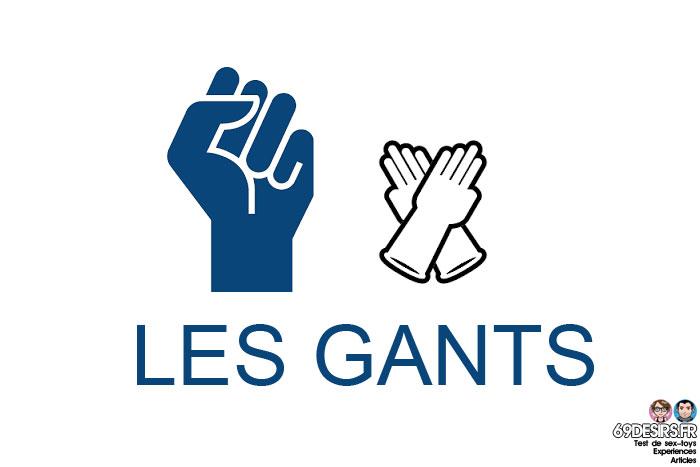 préparations au fist anal : les gants