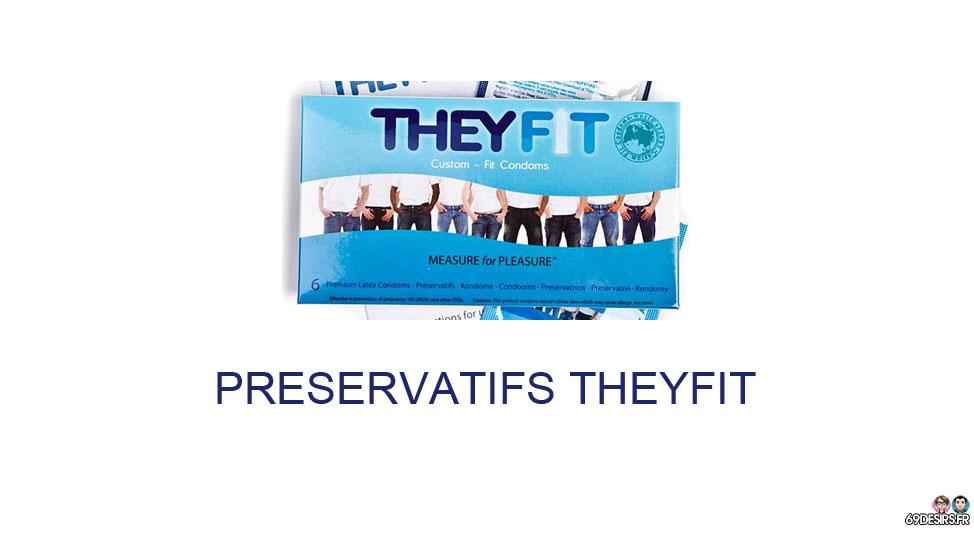 Aperçu des préservatifs sur mesure TheyFit