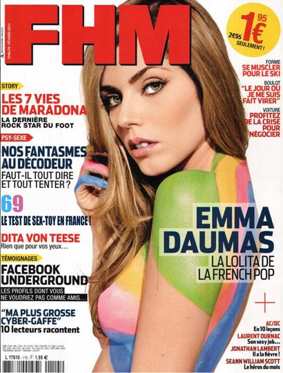 69Desirs dans le magazine FHM de Février 2014