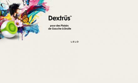 Sortie du Lelo Dextrüs, un masseur pour les droitiers