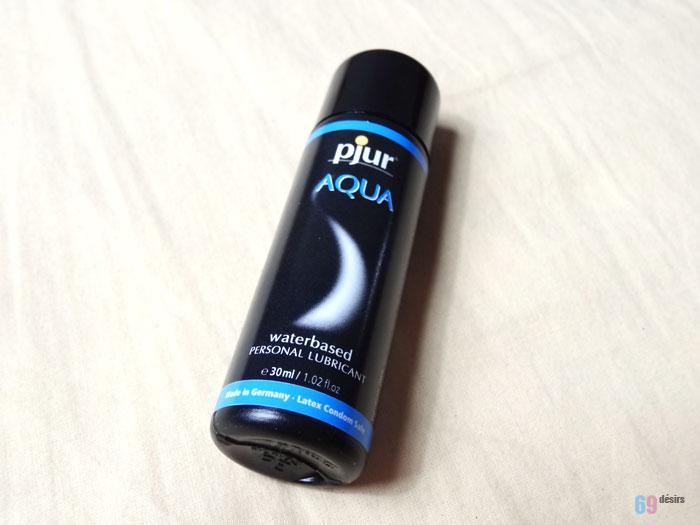 Test du lubrifiant Pjur Aqua