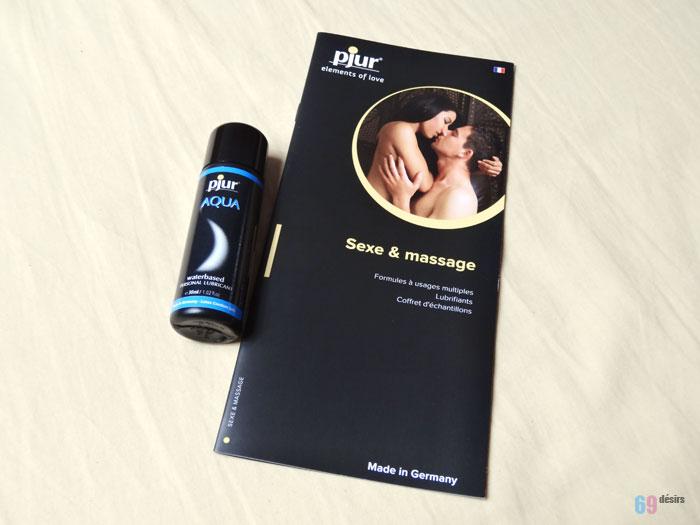 Lubrifiant Pjur Aqua : Sexe & massage