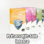 Préservatifs Safe Intense
