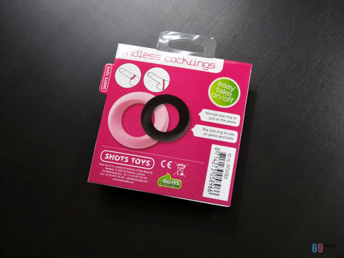 Endless Cockring Shots Toys
