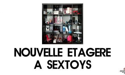 Une nouvelle version d'une étagère sextoys pour notre collection
