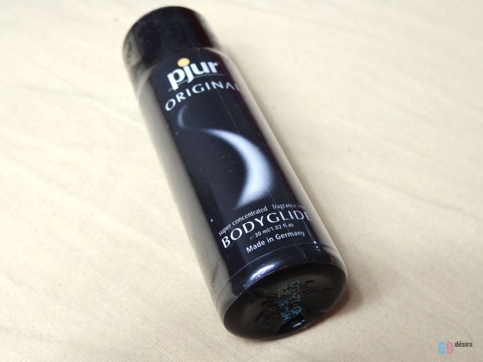 Test du lubrifiant Pjur Original Body Glide
