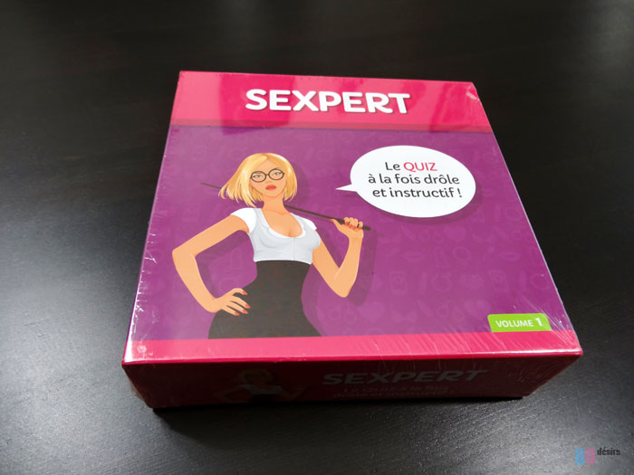 Test du Quiz Coquin Sexpert de Tease & Please