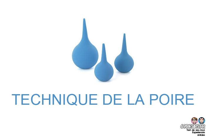 Faire un lavement : technique de la poire
