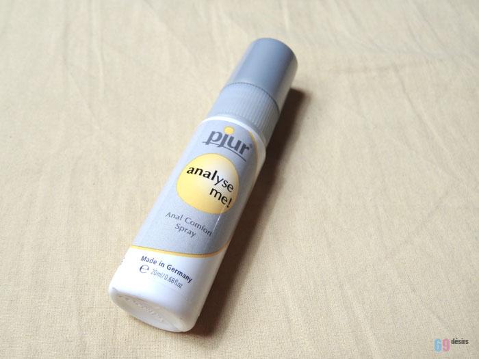 Test du spray anal Pjur Analyse Me