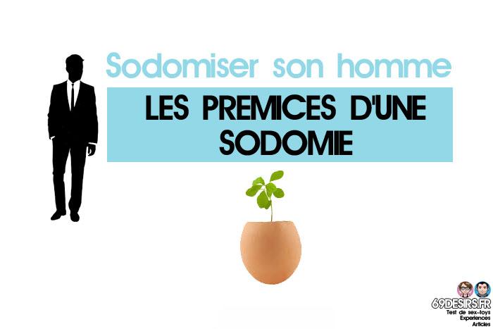 sodomiser son homme : prémices d'une sodomie