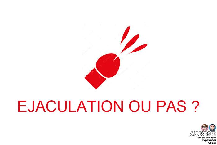stimulation prostatique : éjaculation