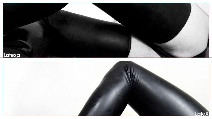 Comparatif bas en latex : L'aspect visuel et l'odeur