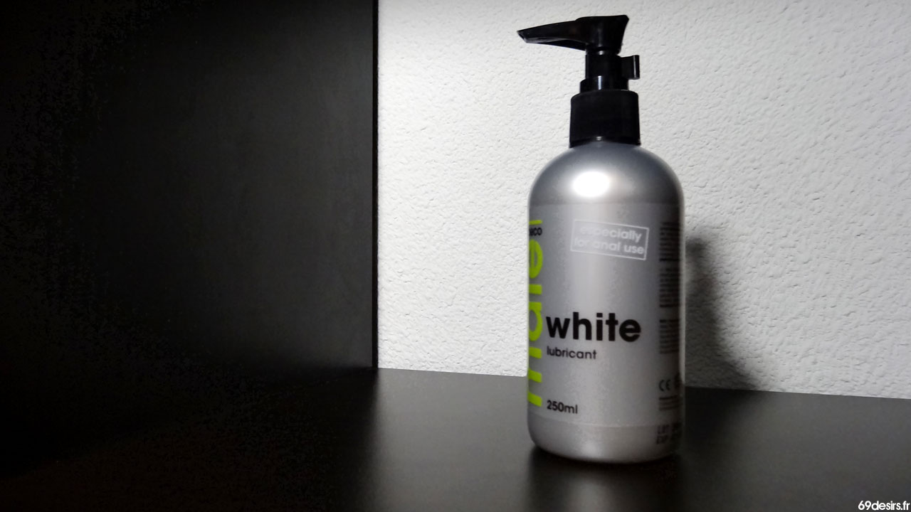 Test du lubrifiant Cobeco Male White