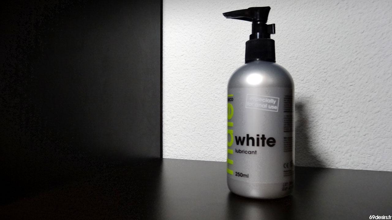 Test du lubrifiant Cobeco Male White