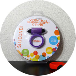 Tantus Vibrating Super Soft C-Ring