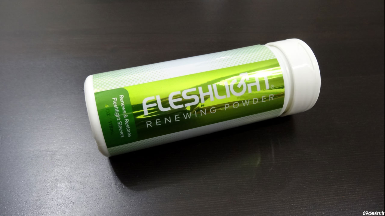 Test de la Fleshlight Renewing Powder