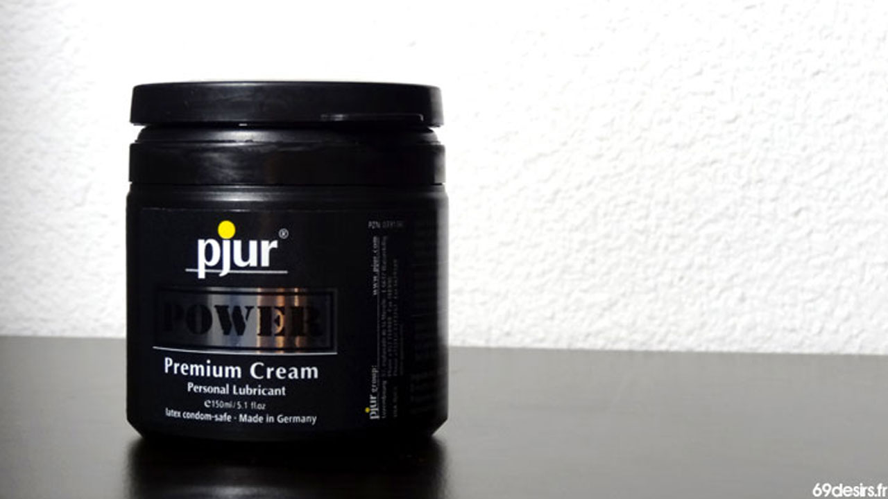 Test de la Pjur Power Cream