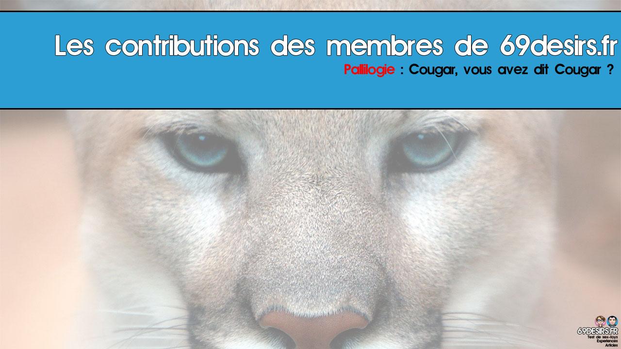 «Cougar» ? Vous avez dit «cougar» ?