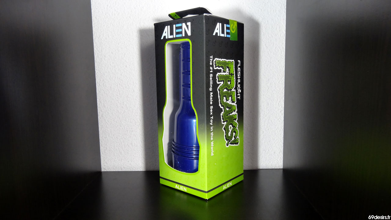 Test du Fleshlight Alien : Masturbateur Ovni