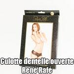 Culotte Dentelle Ouverte René Rafé
