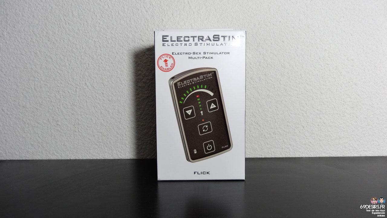 Test du pack ElectraStim Flick EM60-M