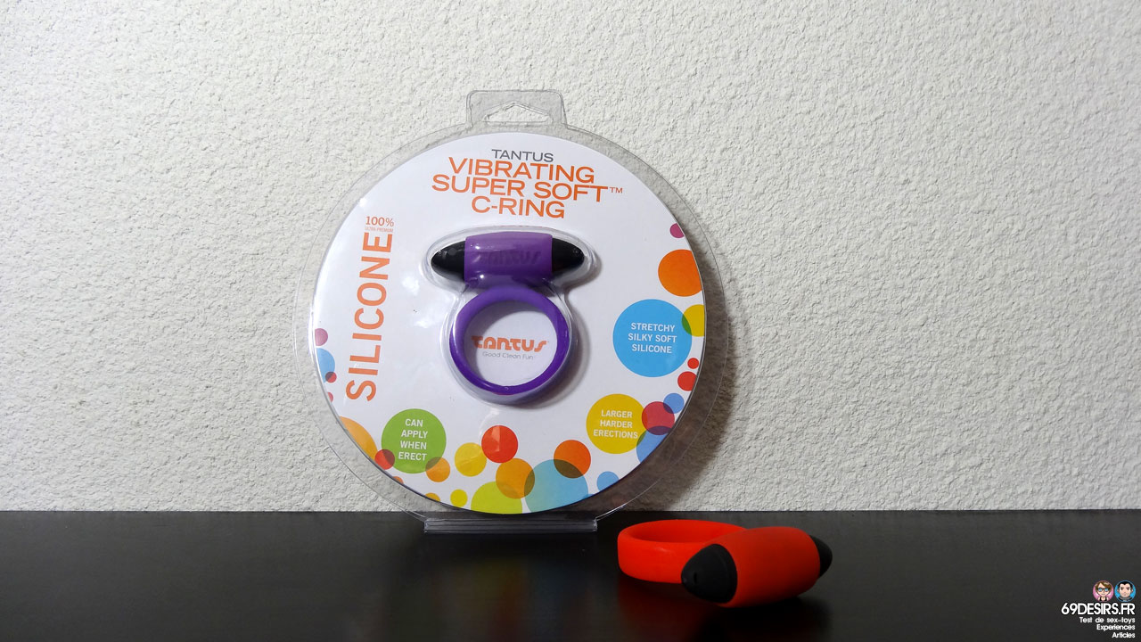 Test du Tantus Vibrating Super Soft C-Ring