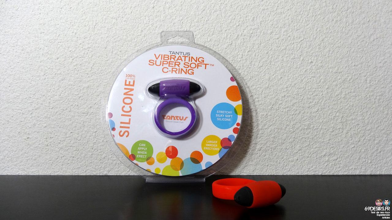 Test du Tantus Vibrating Super Soft C-Ring