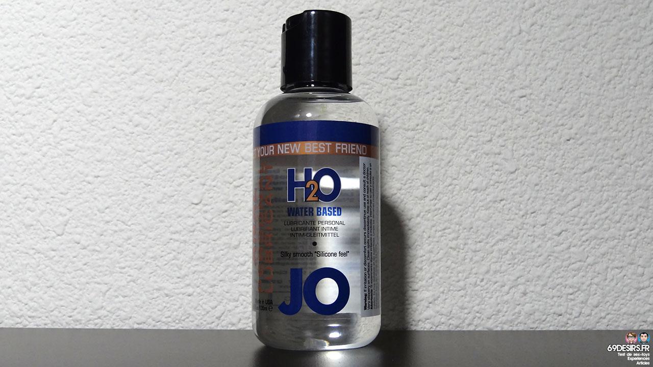 Test du lubrifiant Jo Anal H2O
