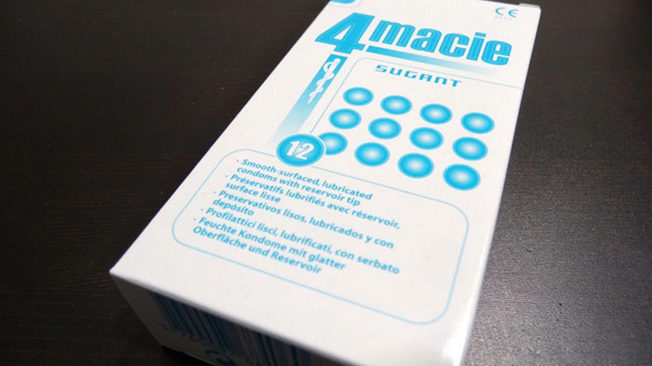 Test des préservatifs 4macie