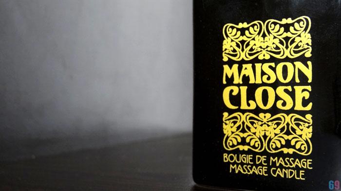bougie de massage Maison Close Ambre