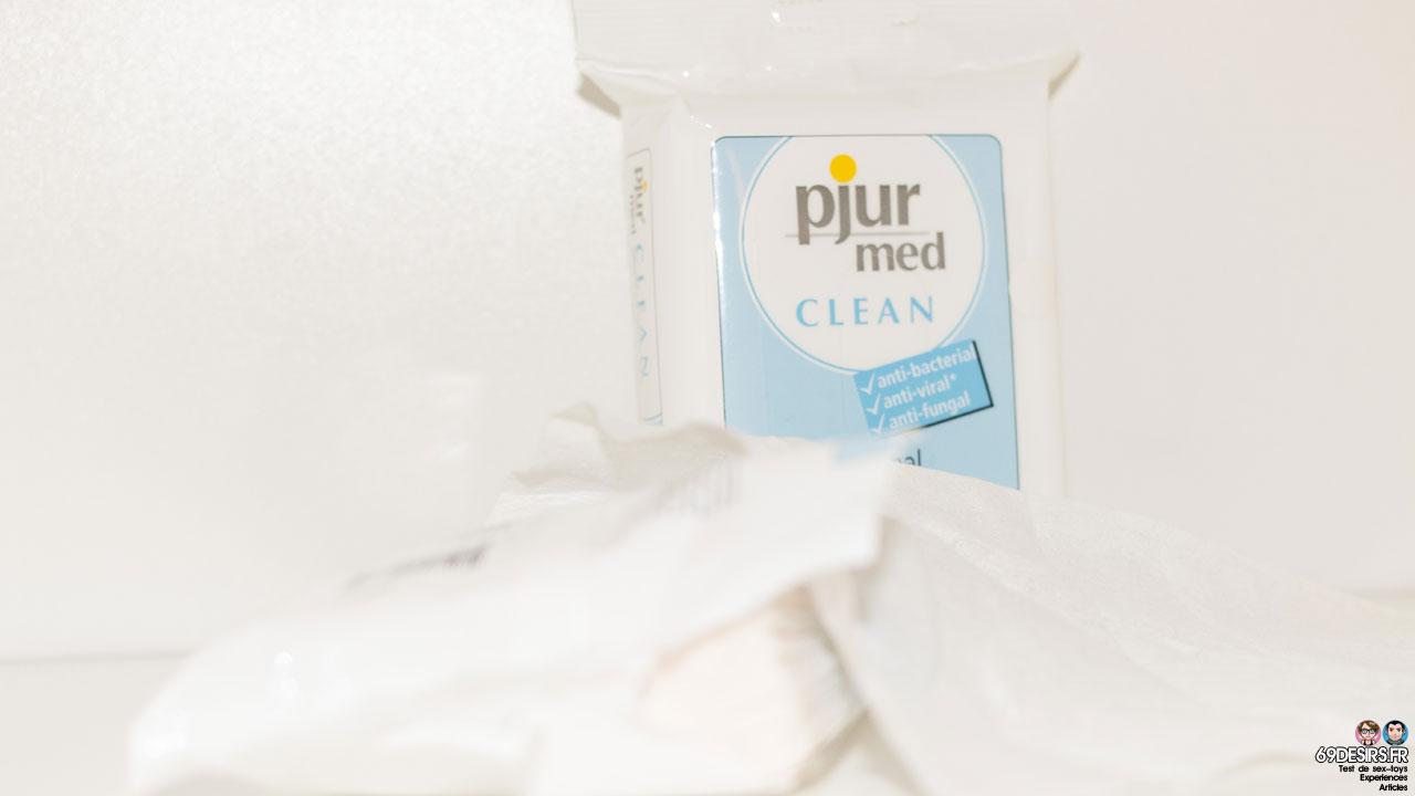 Test des lingettes Pjur Med Clean