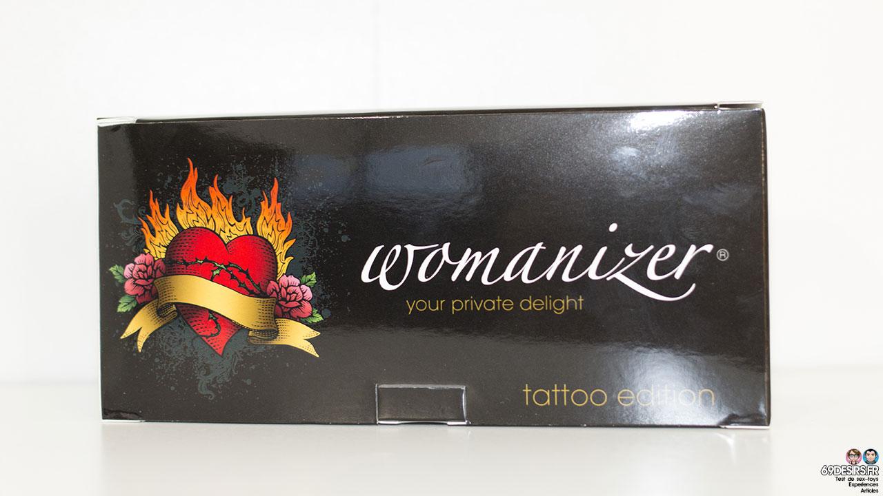 Test du Womanizer Tattoo : édition limitée