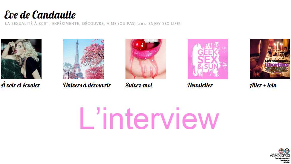 Interview de Eve de Candaulie : Libertine et auteure
