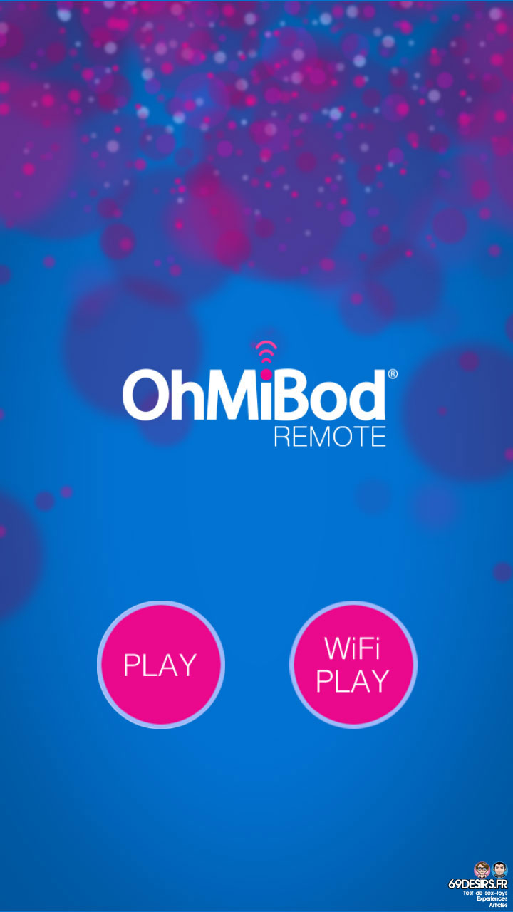 Ohmibod Bluemotion - Application #1