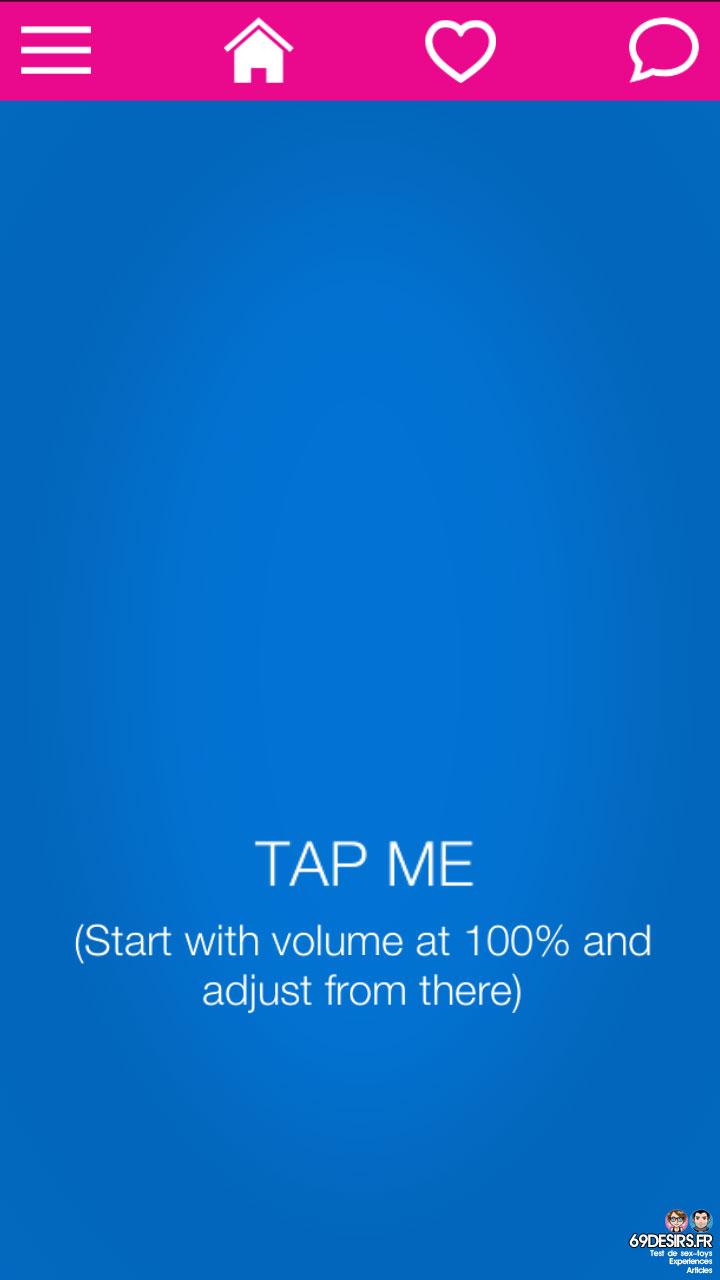 Ohmibod Bluemotion - Application #8