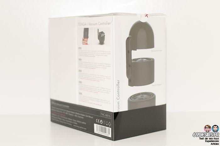 Tenga Vacuum Controller packaging