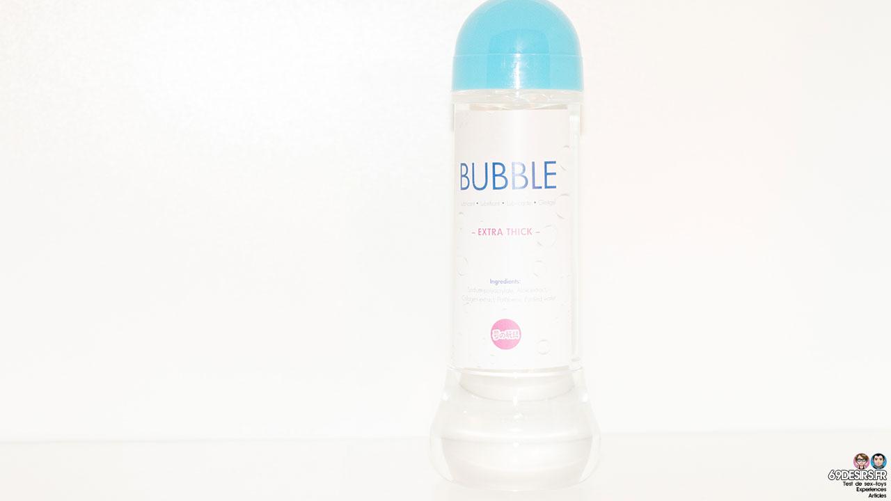 Test du lubrifiant Bubble : un lubrifiant avec des bulles