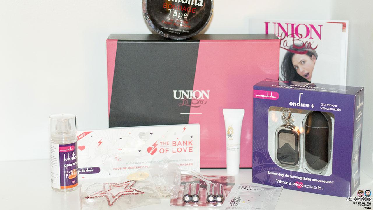 La Box Union : Présentation de la boîte sexy