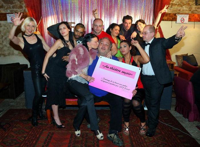 Concours Théâtre Suçoir : Place pour le tournage