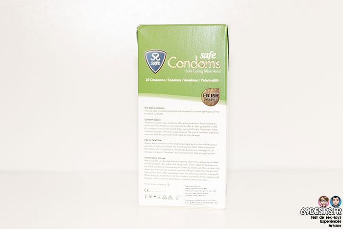 préservatifs Aloe Vera