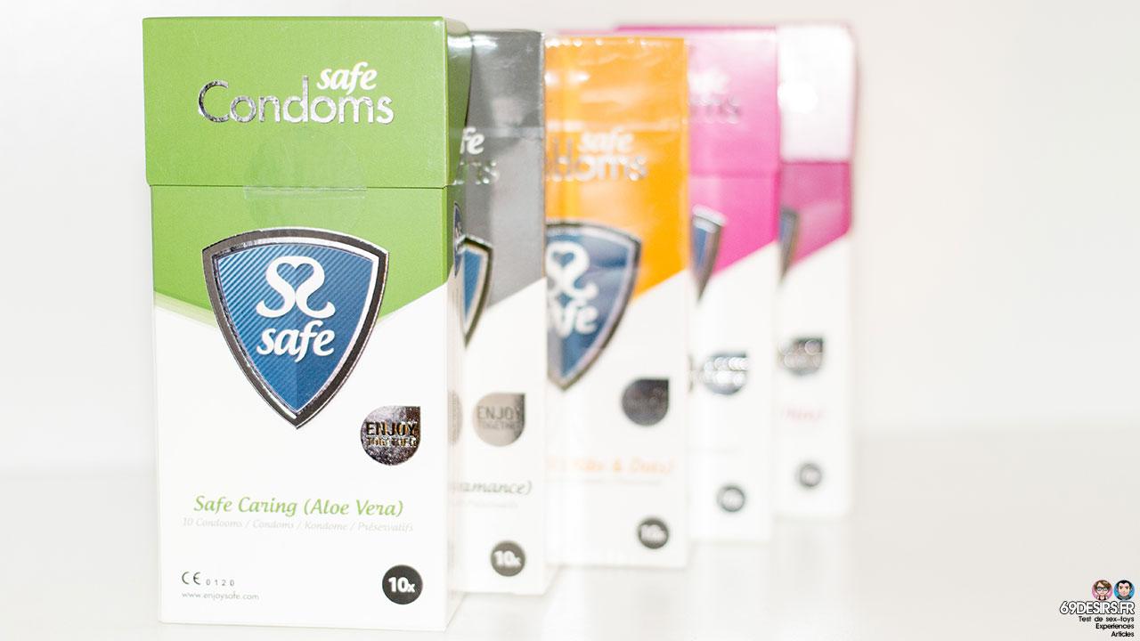 Test des préservatifs Aloe Vera de Safe Condoms