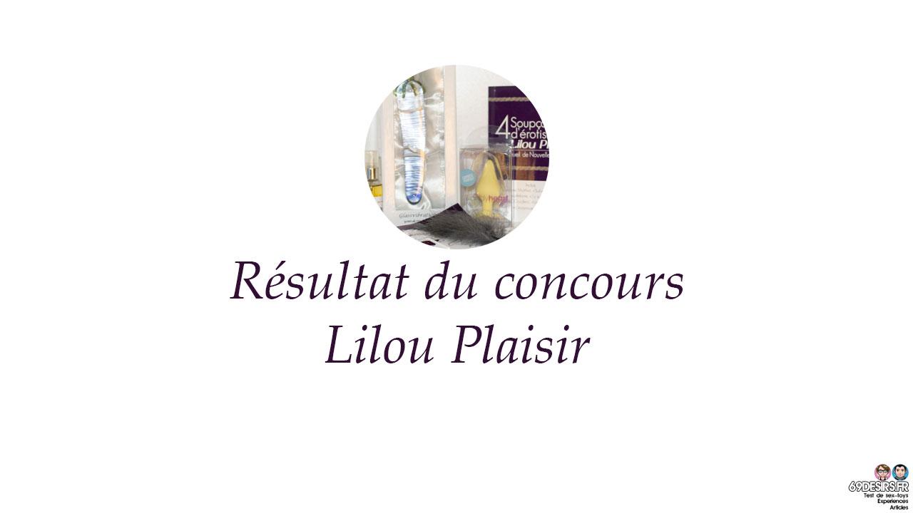 Résultat du concours 3 lots avec Lilou Plaisir : Le billet du dimanche #35