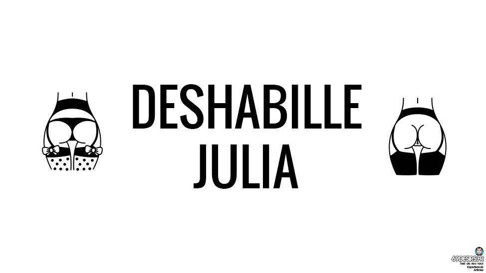 Avis sur le déshabillé Julia noir d'Obsessive