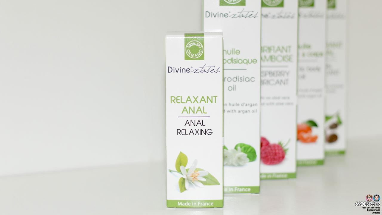 Avis sur le Relaxant anal Divinextases
